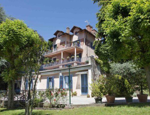 La villa con vista sul Piemonte